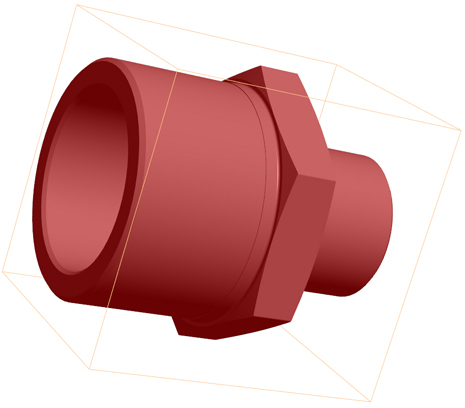 ISO 4144 Fittings CAD