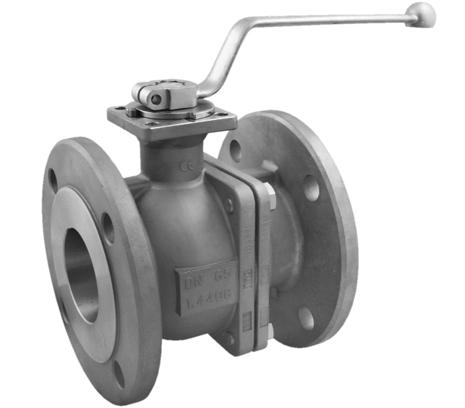 DVGW Flanschkugelhähne Edelstahl Gas Wasser