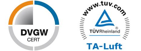 DVGW und TA-Luft