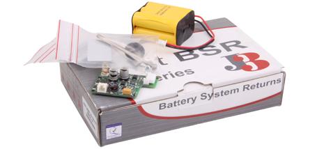 J+J Elektroschwenkantriebe Akkusicherheitspack