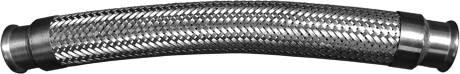 Edelstahl Metallschlauch Pressansanschluss