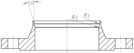 Flansch Form C und D