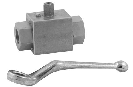 Stainless steel block ball valve hight pressurel