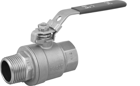 Ball valves with threaded ends