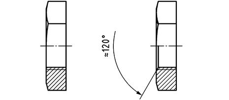 Rohrmutter DIN 431 Form Al