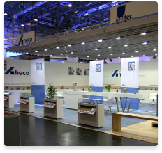 heco booth stainless steel products