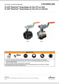 Installation manual grooved butterly valve