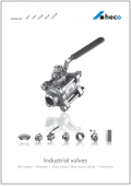 Brochure Industrial valves