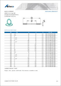 Data Sheet gasket, KLINGERsil