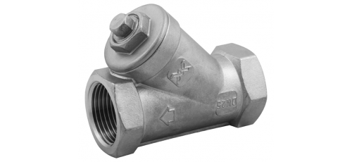 Stainless steel Y-strainers threaded ends
