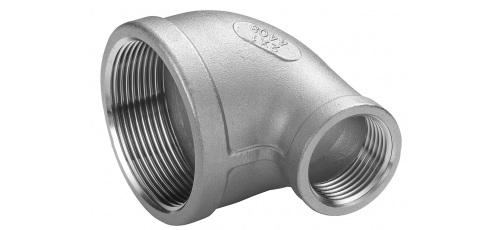 Stainless steel fittings PN 16/ 20 (ISO 4144) reduzierter elbows 90°