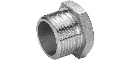 Stainless steel fittings PN 16/ 20 (ISO 4144) with parallel thread