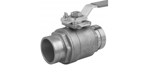 Stainless steel Victaulic Standard Nutsystem ball valves 2-piece