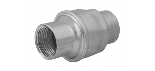 Stainless steel non-return valves non-return valves with spring