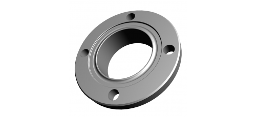 Stainless steel DIN 11864/ DIN 11853 flange connections collar flanges