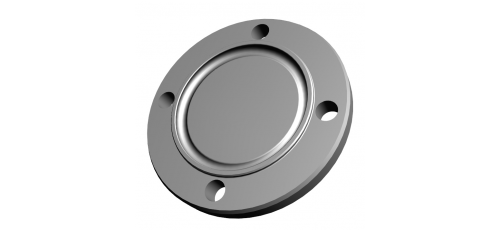 Stainless steel flange connections grooved blind flanges