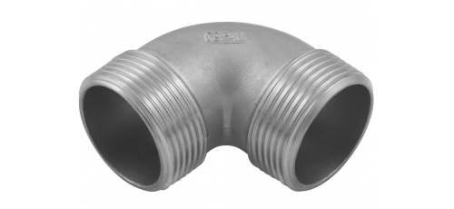 Stainless steel fittings PN 10 (ECO-Line) elbows / bends elbows 90° M/M
