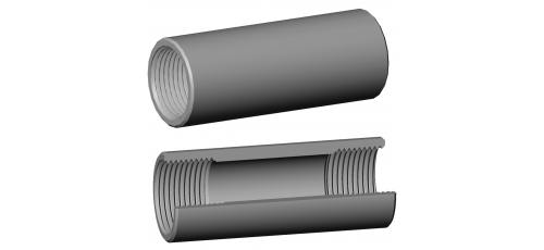 Stainless steel fittings PN 10 (ECO-Line) thread on both sides