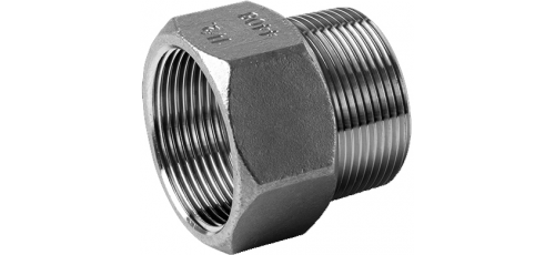 Edelstahl Fittings PN 10 (ECO-Line) Ig NPT <> Ag BSP