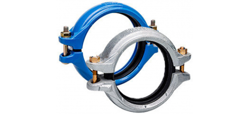 Stainless steel Victaulic StrengThin™ 100 rigid coupling
