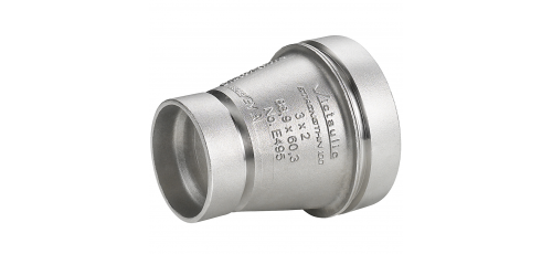 Stainless steel Victaulic StrengThin™ 100 fittings reducer concentric