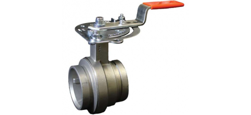 Stainless steel Victaulic StrengThin™ 100 valves butterfly valve