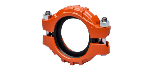 Victaulic Standard Nutsystem pipe couplings cast iron Flex, Typ 177N