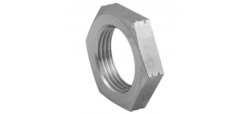 Stainless steel fittings PN 50/ 100 hexagon nuts