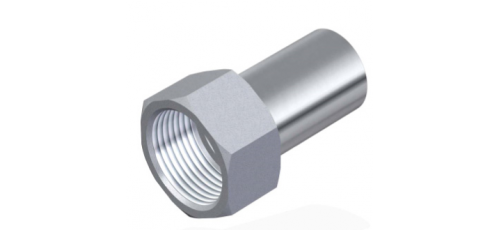 Stainless steel press fittings straight connector female connector