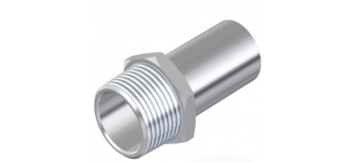 Stainless steel press fittings straight connector male connector
