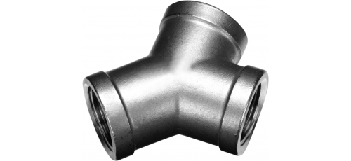 Stainless steel fittings PN 10 (ECO-Line) branches Y-pieces