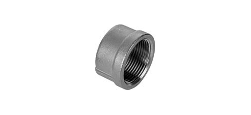 Stainless steel fittings PN 10 (ECO-Line) caps/plugs round caps