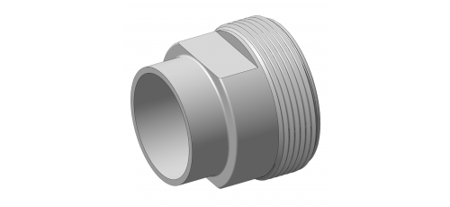 Stainless steel hecoNNECT couplings threaded parts screw-in part