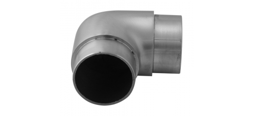 Stainless steel railing construction plug fittings Bends elbow 90°