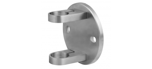 Stainless steel railing construction post clamps for tightening