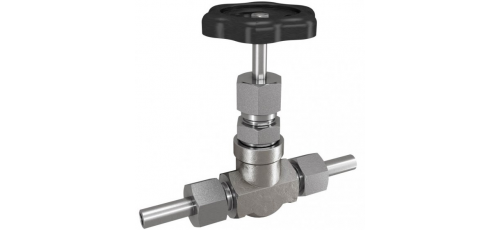 Stainless steel globe valves high-pressure with welding nipple