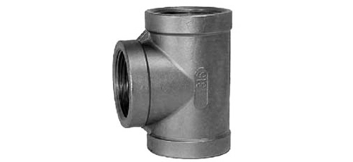Stainless steel fittings PN 10 (ECO-Line) tees