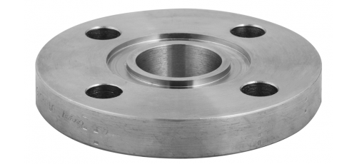 Stainless steel plate flanges DIN / EN with groove (PN 10)