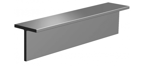 Stainless steel steel bars profiles T-bars
