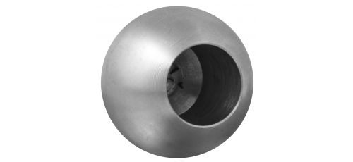 Stainless steel railing construction balls with blind hole