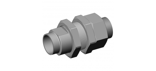 Stainless steel hecoNNECT couplings complete bulkhead couplings compl.