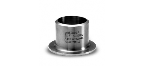 Stainless steel ANSI / ASME stub ends
