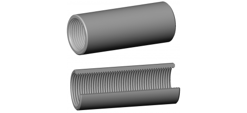 Stainless steel fittings PN 10 (ECO-Line) continuous thread