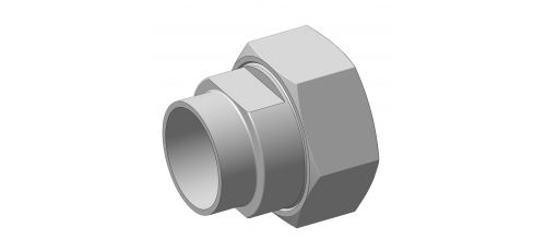 Stainless steel hecoNNECT couplings complete dummy couplings