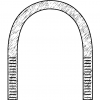 Rundstahlbügel DIN 3570 Form A