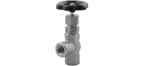 Stainless steel globe valves high-pressure female thread angle design