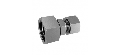 Stainless steel cutting rings straight couplings cone (pre-assembled)