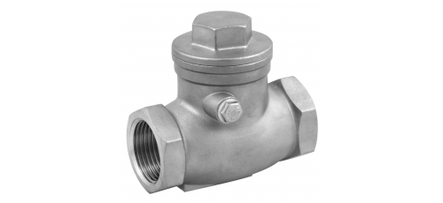 Stainless steel non-return valves swing-check valves threaded ends