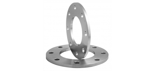 Stainless steel plate flanges reduced thickness drilled PN 10/16