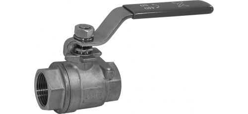 Stainless steel ball valves threaded ends without locking device